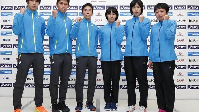 ロンドン世界選手権マラソン日本代表選手会見