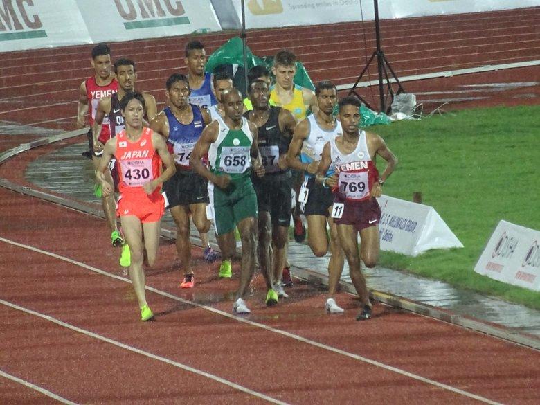 アジア選手権2日目】1500mで井上...