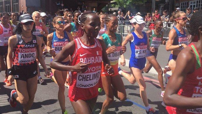 【2017世界陸上:第3日目】女子マラソンが10km通過!