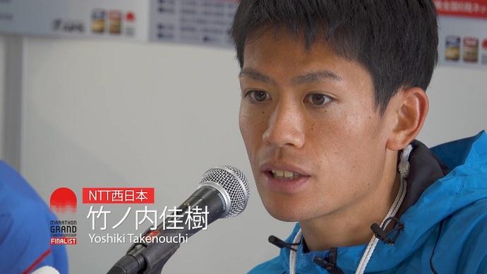 日本人3位【MGCシリーズ】竹ノ内佳樹選手レース後コメント/福岡国際マラソン