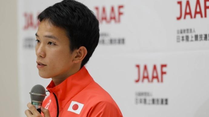 井上選手、日本代表内定! アジア大会日本代表会見コメント