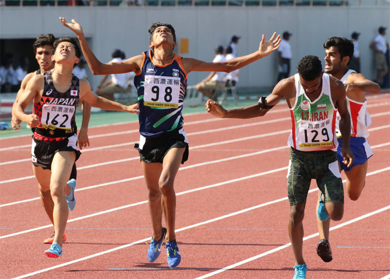鳥居風樹選手、800mで3位に:日...