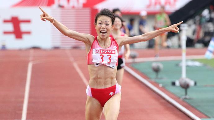 女子10000mは松田瑞生が連覇を飾る!