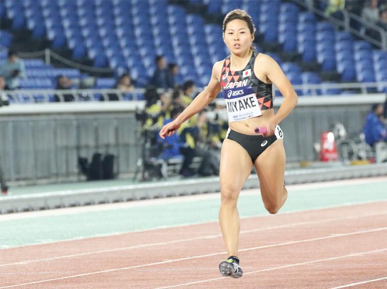世界リレー横浜】女子4×100mリレー予選:日本陸上競技連盟公式サイト