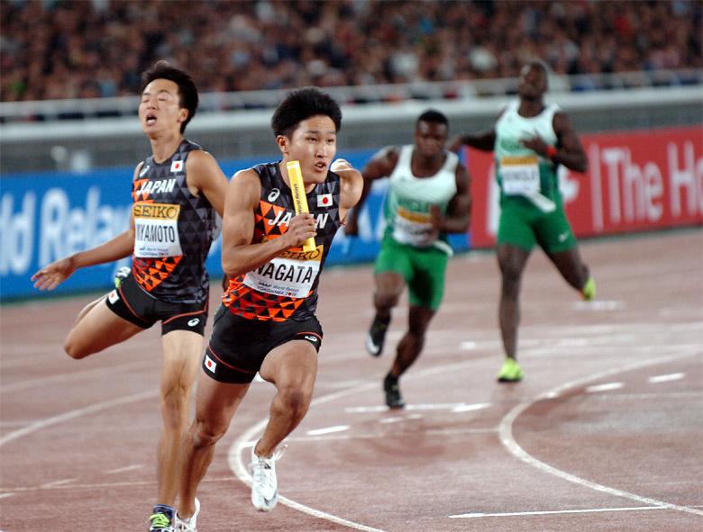 世界リレー横浜】男子4×200mリレー決勝:日本陸上競技連盟公式サイト