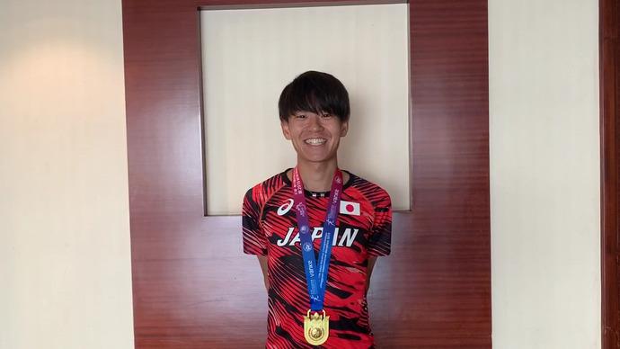【アジアマラソン】神野大地(セルソース)金メダル獲得!