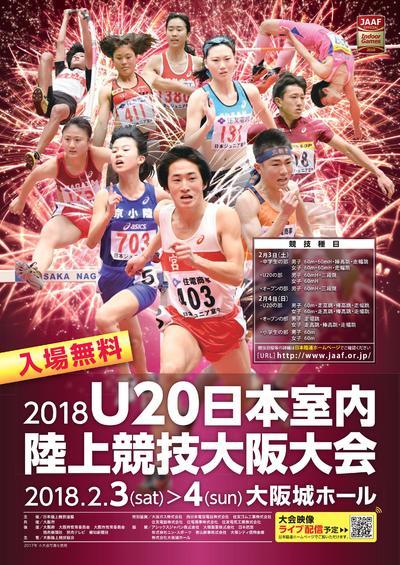 陸上 2020 室内 大阪