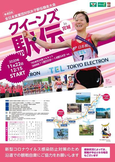 第40回全日本実業団対抗女子駅伝競走大会(クイーンズ駅伝):日本陸上競技連盟公式サイト - Japan Association of Athletics Federations