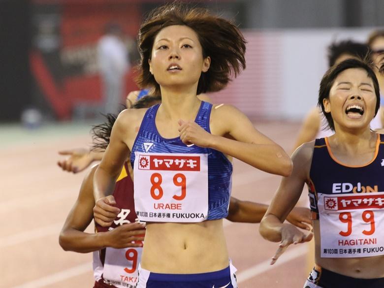第103回日本選手権】女子1500m優勝 卜部蘭(NIKE TTC・東京)コメント ...
