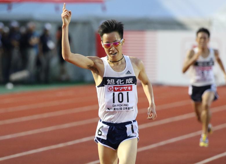 第102回日本選手権】男子10000m ...