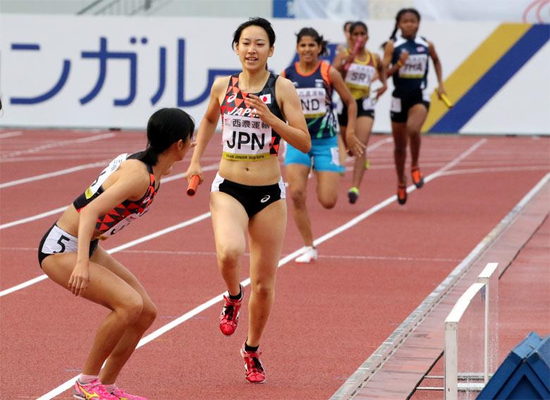 第18回アジアジュニア陸上競技選...