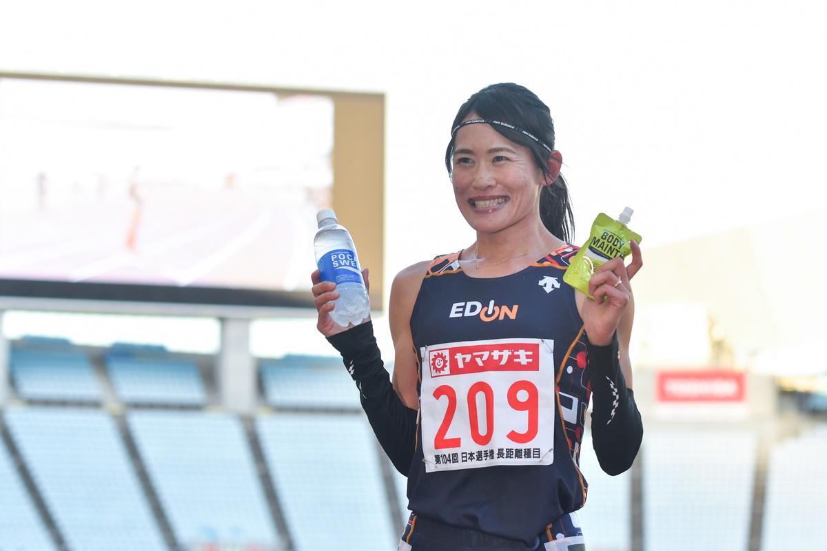 第104回日本選手権長距離】女子3000mSC優勝 石澤ゆかり(エディオン ...