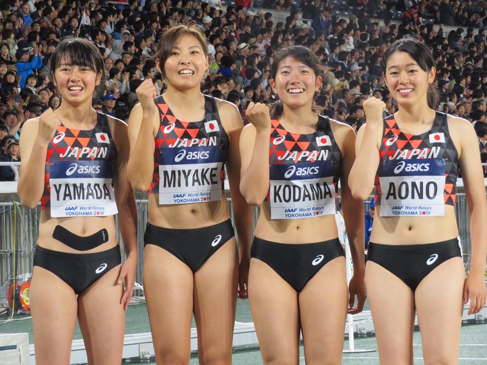 世界リレー横浜】女子4×200mR決勝 日本選手レース後コメント:日本陸上 ...