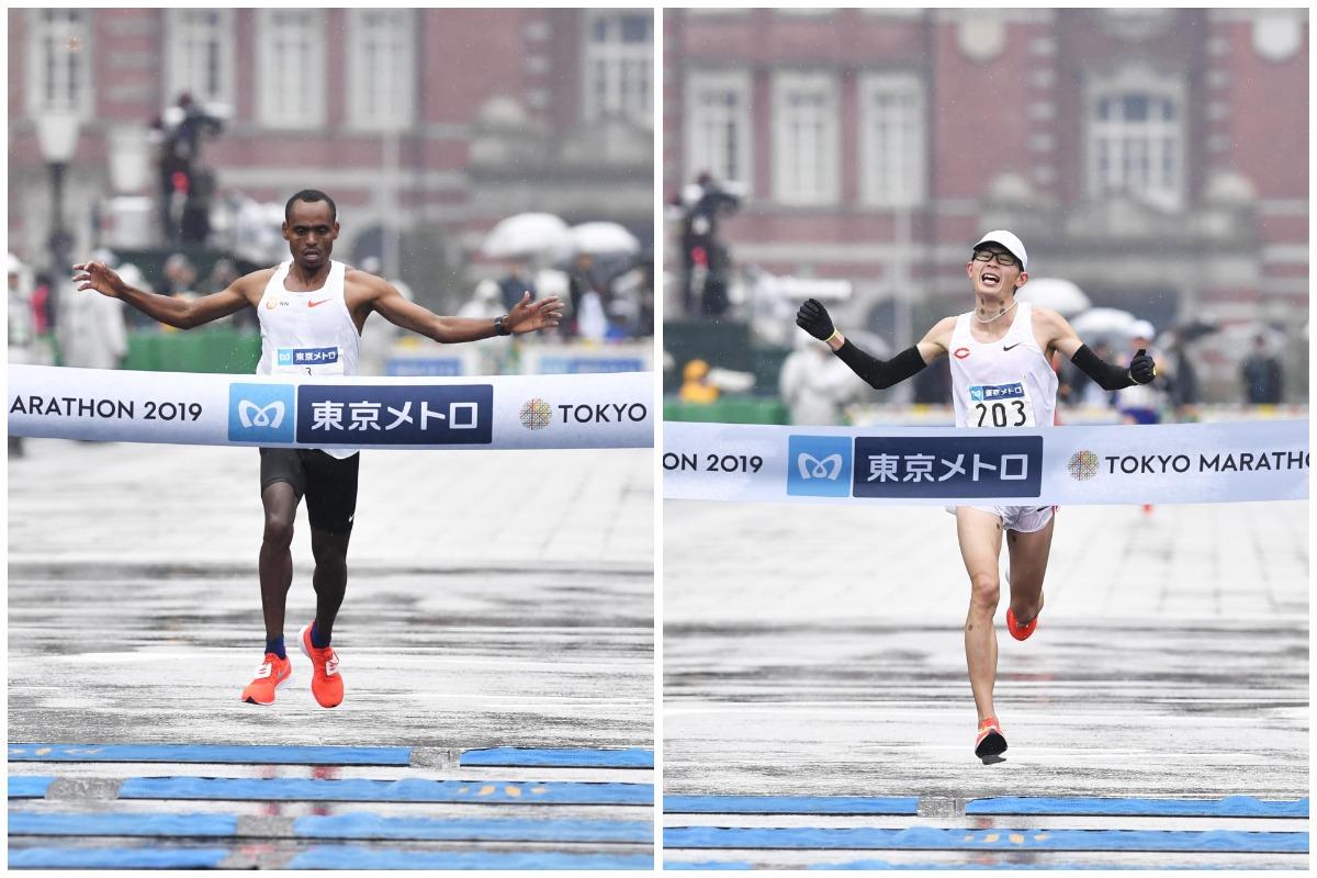 0bdb636af1 日本人トップ争いは、初マラソンの堀尾謙介選手(中央大)が36km終盤で5位に浮上すると、そのまま逃げ切って2時間10分21秒でフィニッシュ。6・7位に今井正人選手(  ...